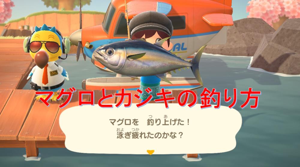 【釣れない人必見】あつ森のマグロとカジキの釣り方